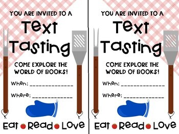 Text Tasting & Book Barbecue