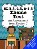 RL3.2, RL4.2, RL5.2 Text Theme Test Common Core TNReady Aligned