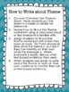 Text / Book Themes Worksheet Set Common Core TN Ready Aligned