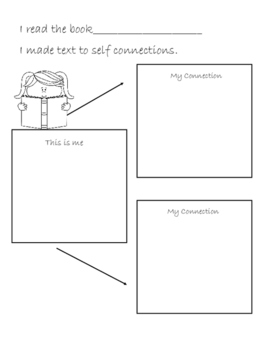 Text To Self Connection page