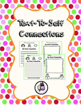 Text To Self Connections Worksheets