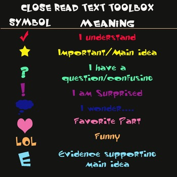 Text Toolbox for Annotating Notes