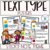 Text Type Posters and Conferencing Tags