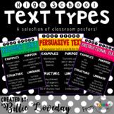 Text Types - Poster Set