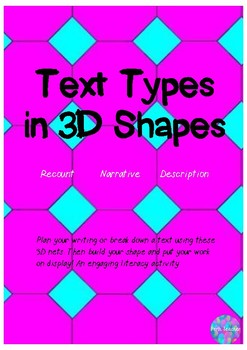 Text Types in 3D shapes