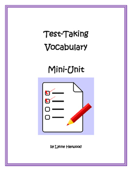 Text Vocabulary Mini Unit