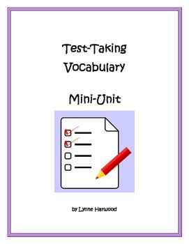 Text Vocabulary Mini Unit