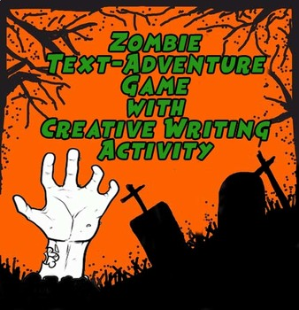 Text adventure game and creative writing activity