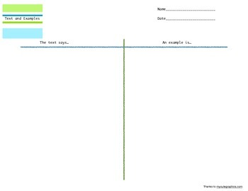 Text and Examples