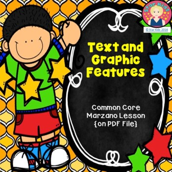 Text and Graphic Features Lesson {RL.K.7; LAFS.K.RI.3.7}