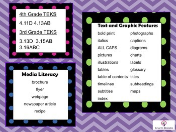 Text and Graphic Features Media Literacy