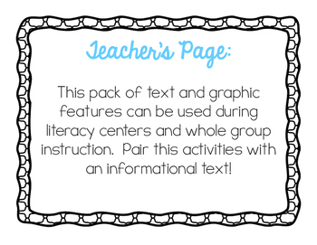 Text and Graphic Features Pack