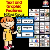 Text and Graphic Features {Picture Cards for Pocket Charts and Posters}