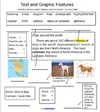 Text and Graphic Features Smart Board Activity