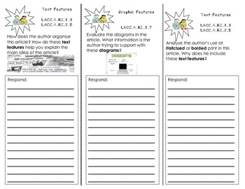Text and Graphic Features Trifold
