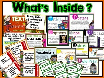 Text and Graphic Features Unit RI.1.5