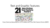 Text and graphic Feature Scavenge PPT