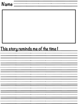 Text connections sentence stems. 21 page pack of text to self, text and world!