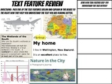 Text feature review