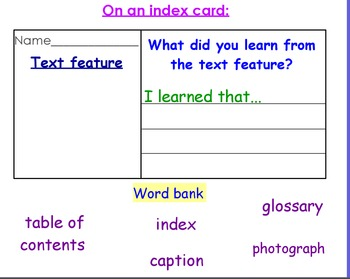 Text Features Flipchart!