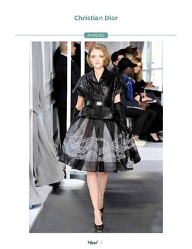 Text in French - Christian DIOR + teacher preparation and activities.