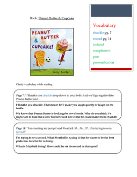 Text talk - Peanut Butter & Cupcake
