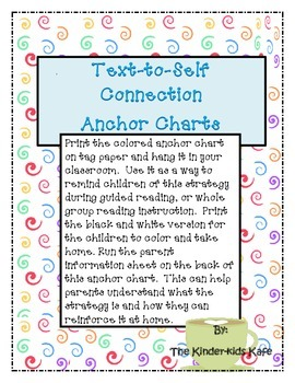 Text-to-Self Connection Anchor Charts