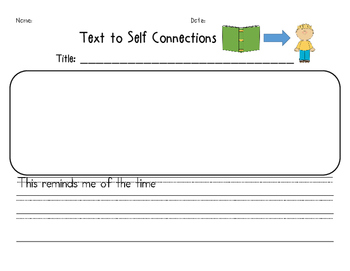 Text to Self Connections
