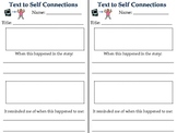 Text to Self Connections Response Sheet