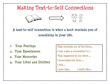 Text-to-Self Connections mini unit