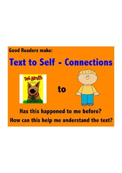 Text to Self Reading Poster