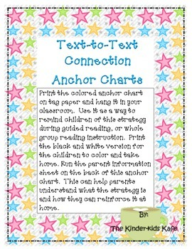Text-to-Text Connection Anchor Charts