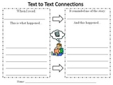 Text to Text Connections Response Sheet