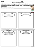 Text to Text Connections - Tiered Graphic Organizers