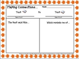 Text to Text Self World Worksheets Graphic Organizers Fall theme