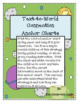 Text-to-World Connection Anchor Charts