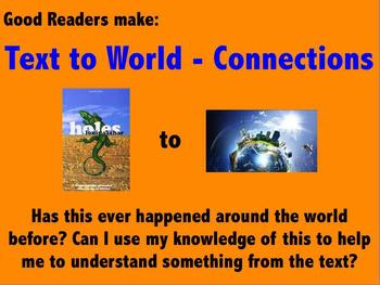 Text to World Reading Poster