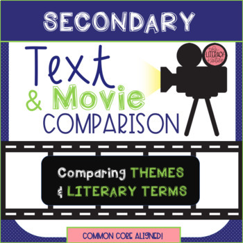 Text vs. Movie: Comparing Themes and Literary Terms {SECONDARY}