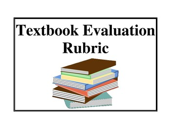 Textbook Evaluation Rubric