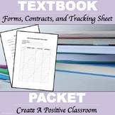 """Textbook Forms and Contracts """"Editable"""""""