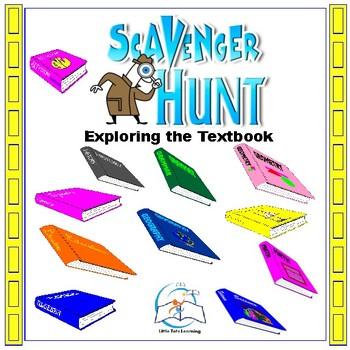 Textbook Scavenger Hunt