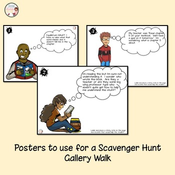 Back to School - Textbook Scavenger Hunt - Text Features