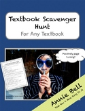 Textbook Scavenger Hunt for Any Book