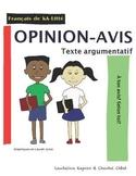 Texte d'opinion: L'AVIS