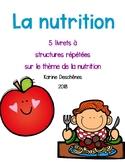 Textes à structures répétées-La nutrition
