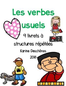 Textes à structures répétées-Les verbes usuels