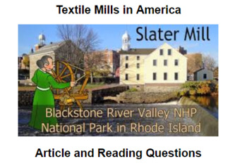 Textile Mills in America