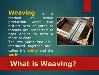 Textile and Fabric Weaves