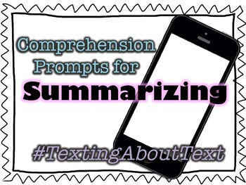 Texting About Text - Summarizing Prompts