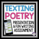 CREATIVE WRITING: TEXTING
